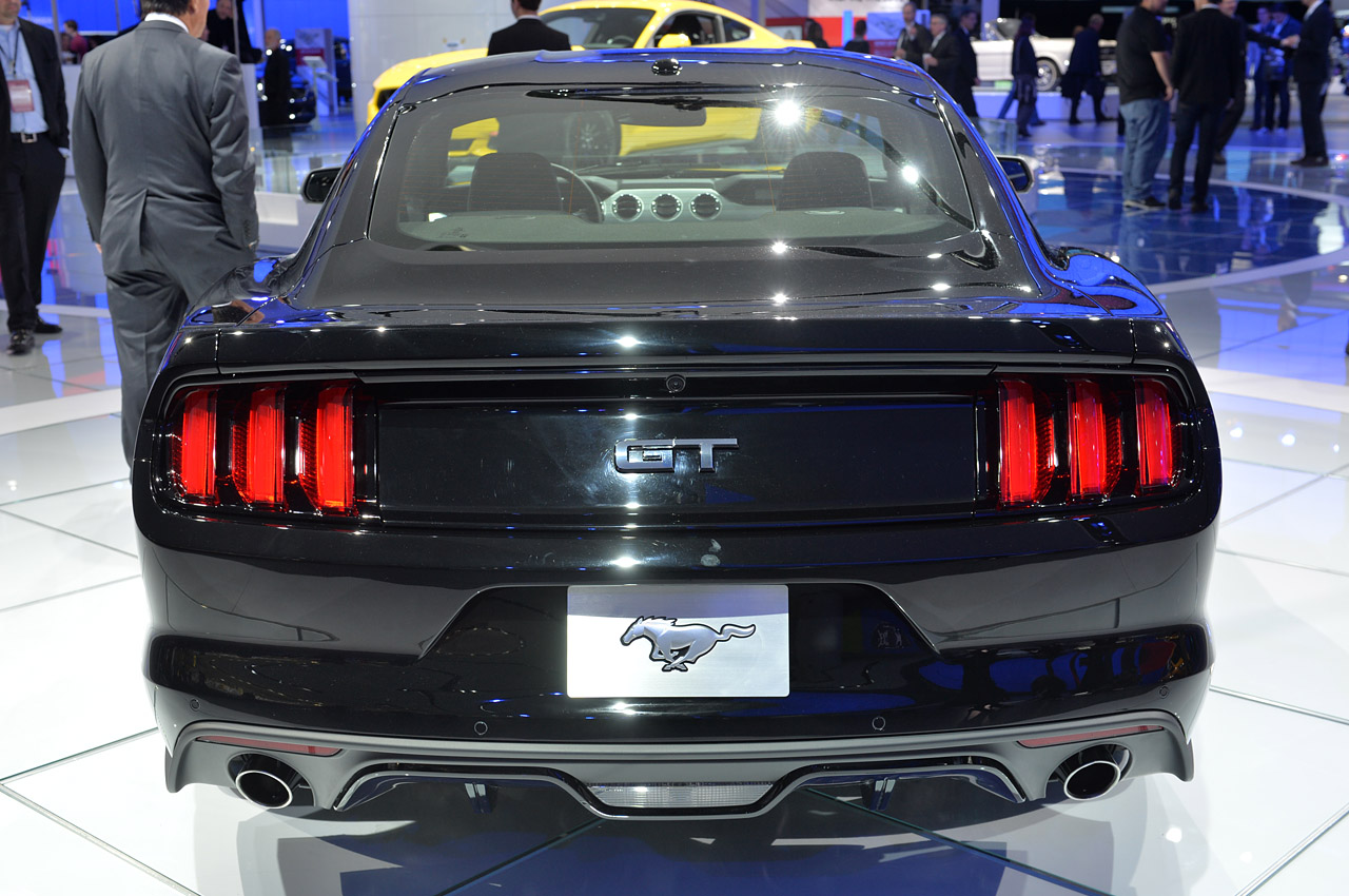 Ford Mustang 2015 Black HuT1QT6U   FewMocom Cool Car Wallpaper 1280x850