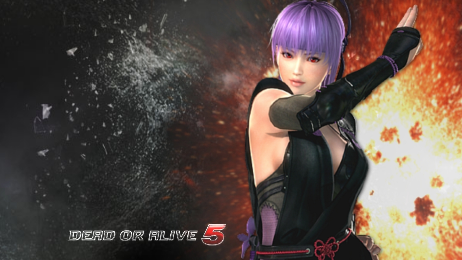 Ayane Dead or Alive 5 Wallpaper 1600x900