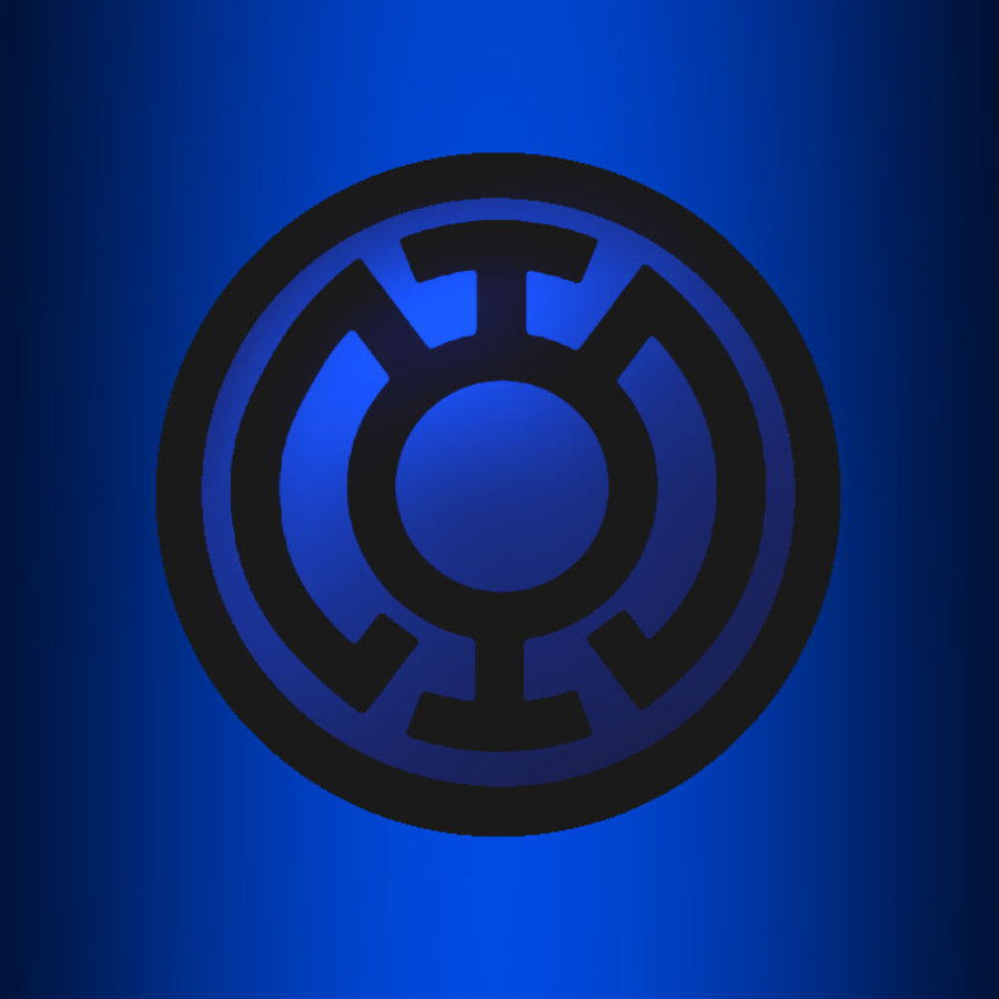 Blue Lantern Ipad Background by KalEl7 on deviantART 900x900