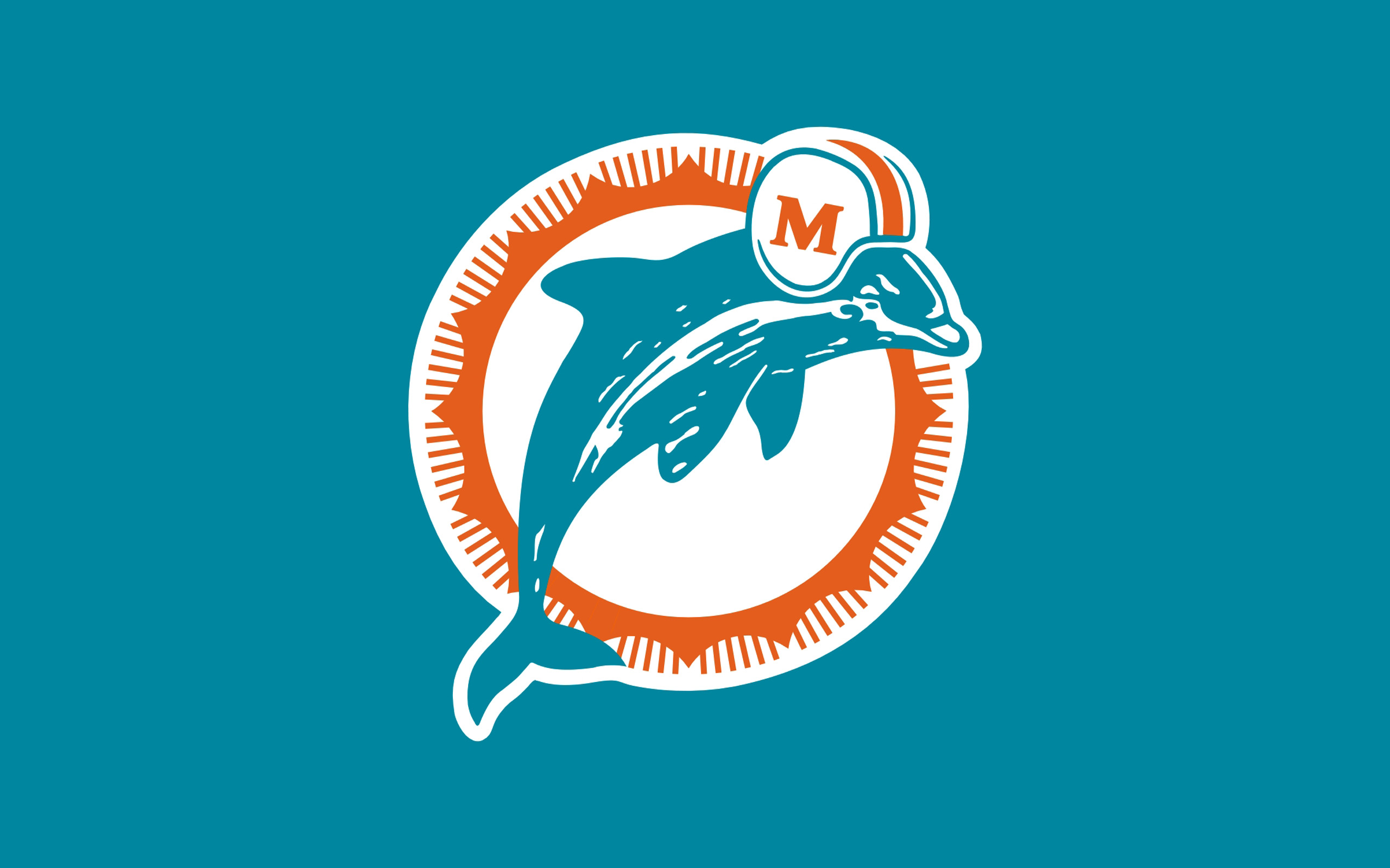 Miami Dolphins background Miami Dolphins wallpapers 2560x1600