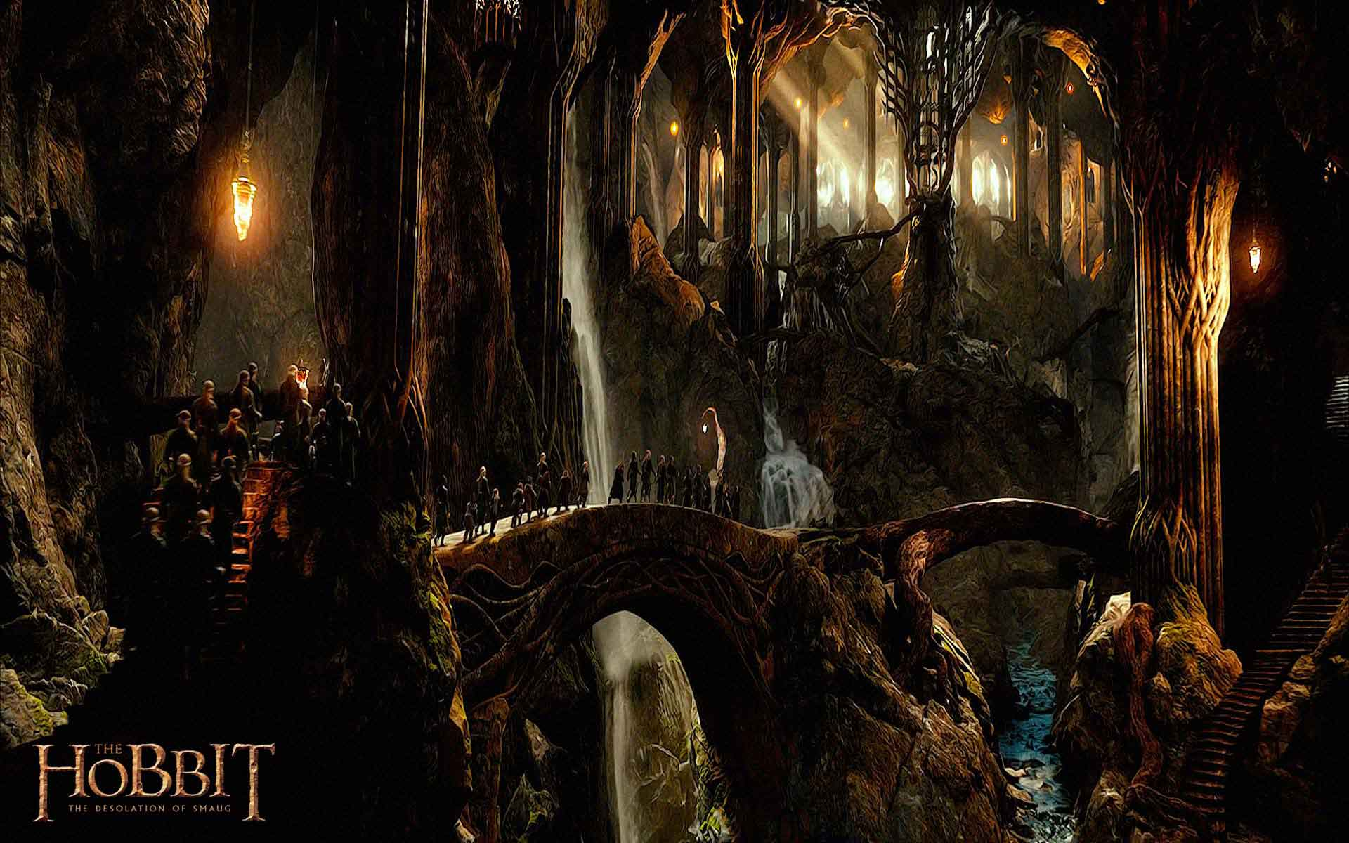 the hobbit desolation of smaug wallpapers hd backgrounds1 Hobbit 1920x1200