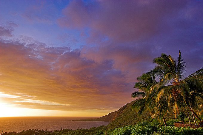 Hawaii beach sunset wallpapers Oahu Hawaii 680x454
