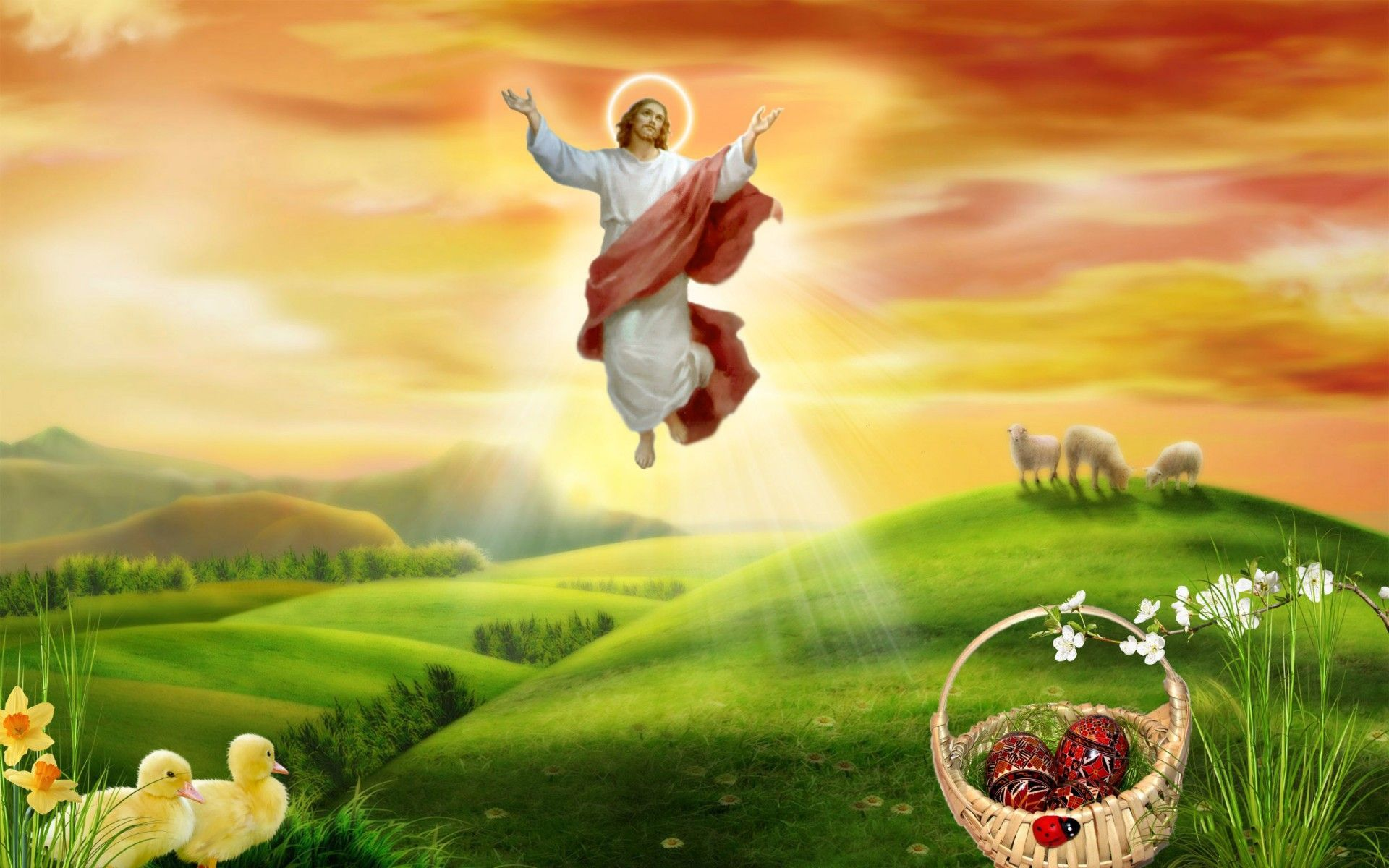 Easter Wallpapers With Jesus HD Easter Images 1920x1200