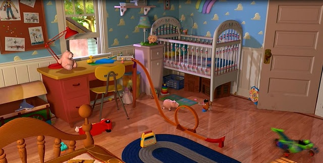640x323px Toy Story Andys Room Wallpaper Wallpapersafari