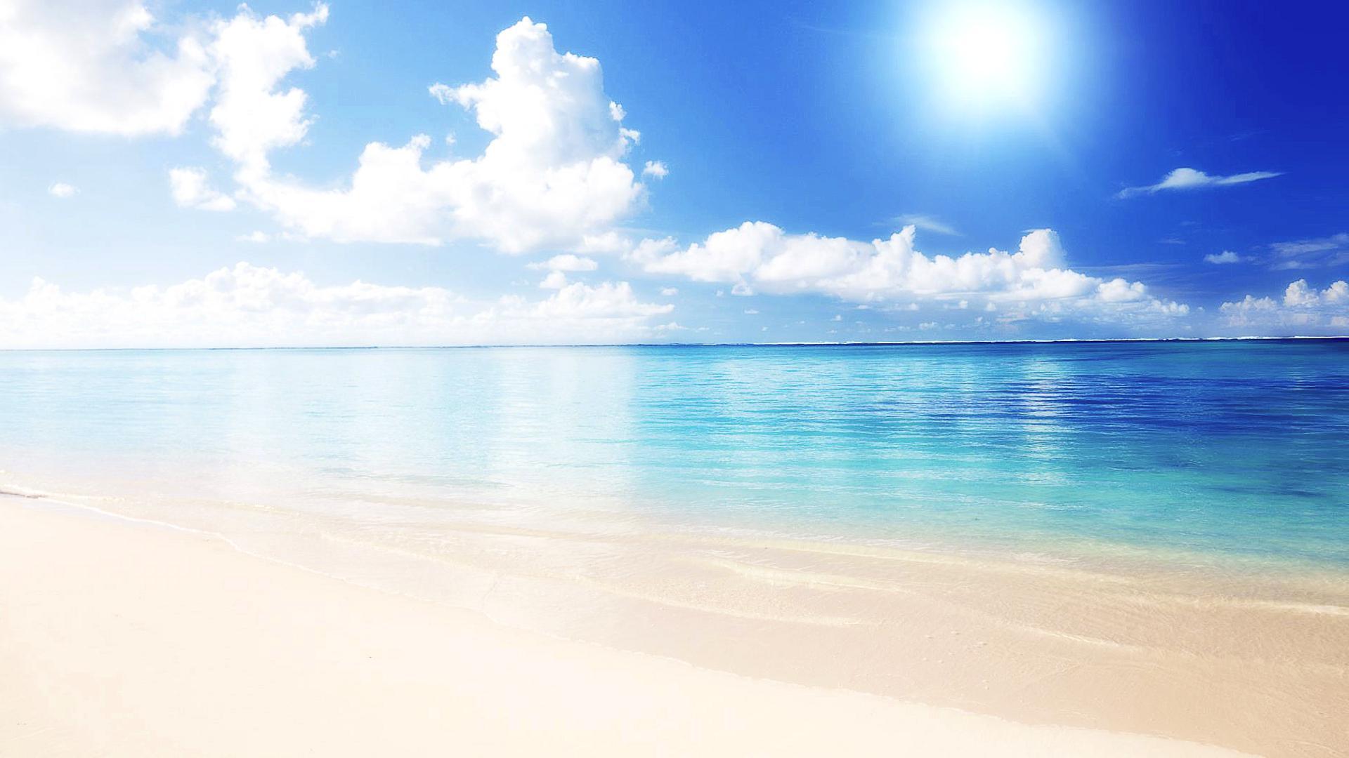 Custom Mural Wallpaper Hd Beautiful Sandy Beach Sea View: [45+] White Sand Wallpaper On WallpaperSafari