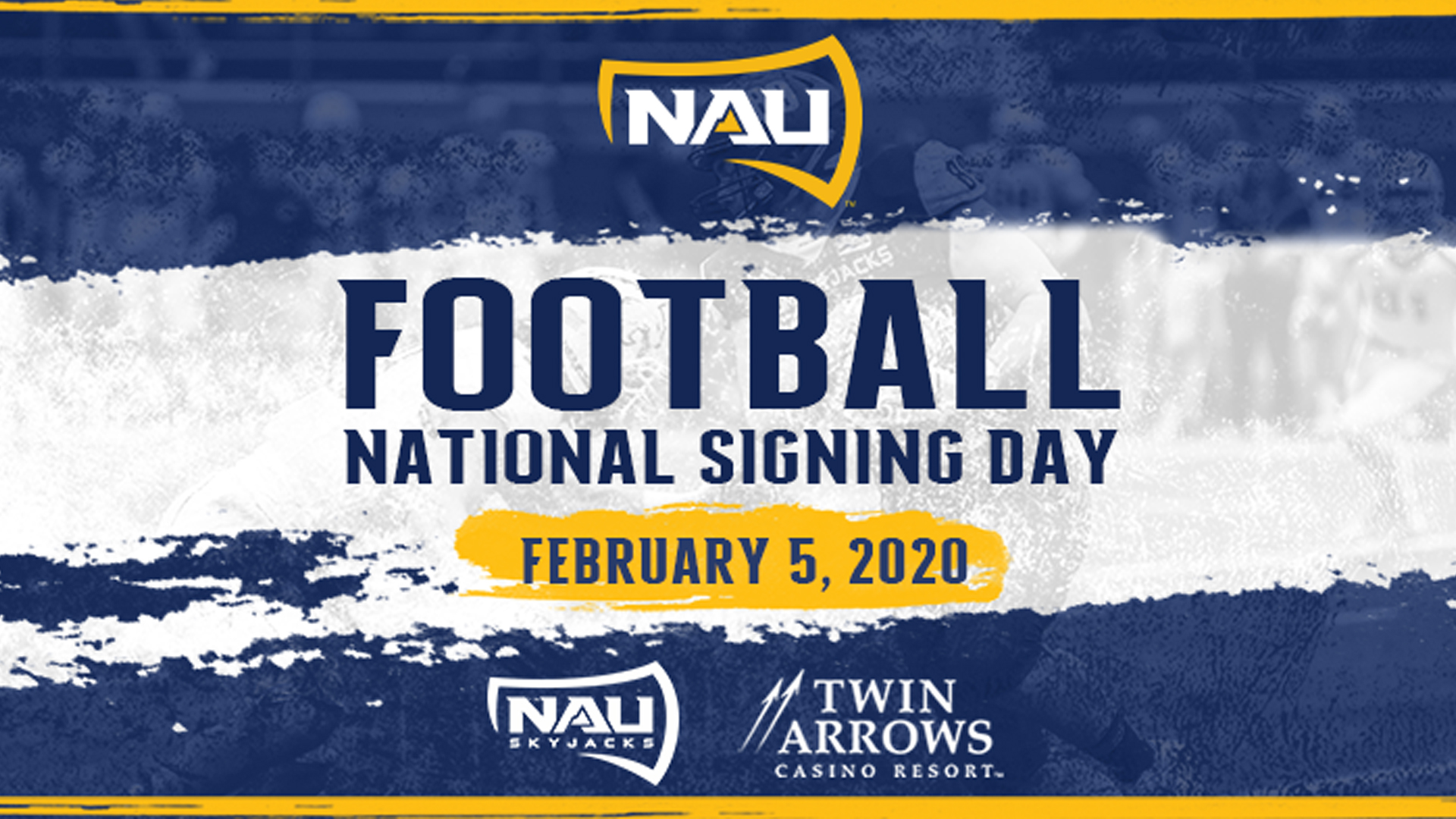 NAU Football to Host National Signing Day Event on February 5 1920x1080