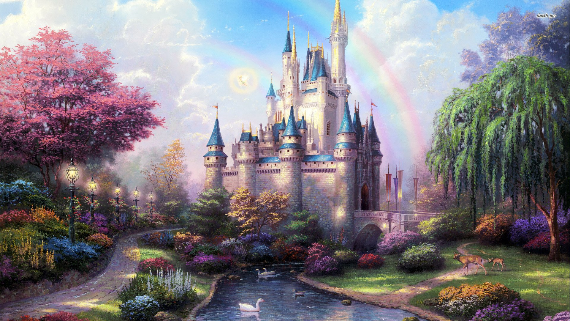 Fairy Tale Castle wallpaper Download High Resolution HD Wallpapers 1920x1080