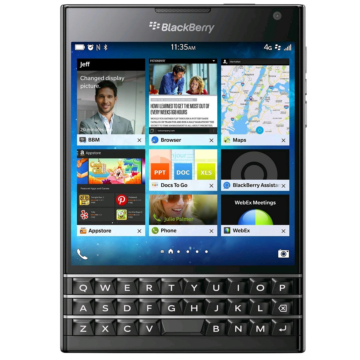 BlackBerry Passport QWERTY Black SKU 266526 image photo 1514x1514