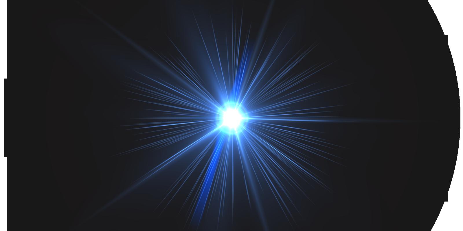 Arte Pop Brilhos de Lente de Cmera em PNG 1600x800
