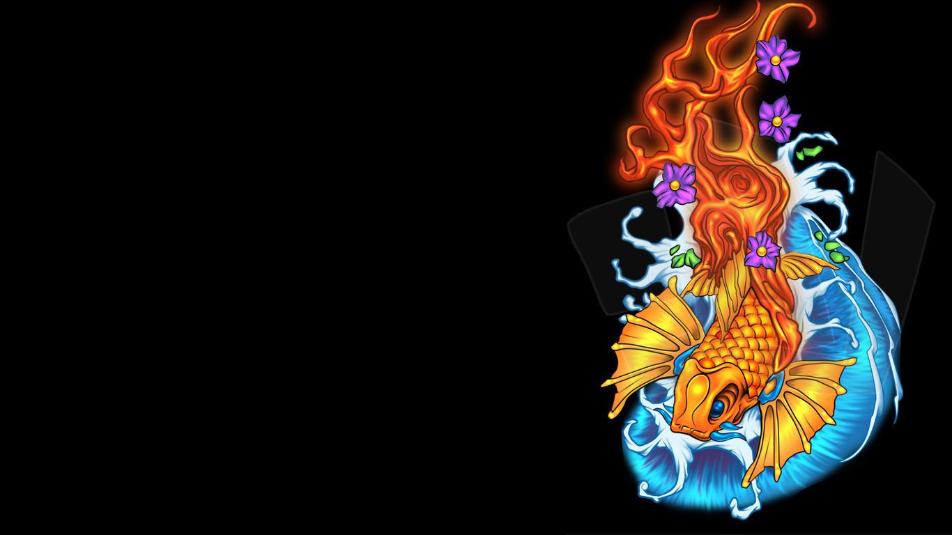 Koi Fish Live Wallpaper 1280x800