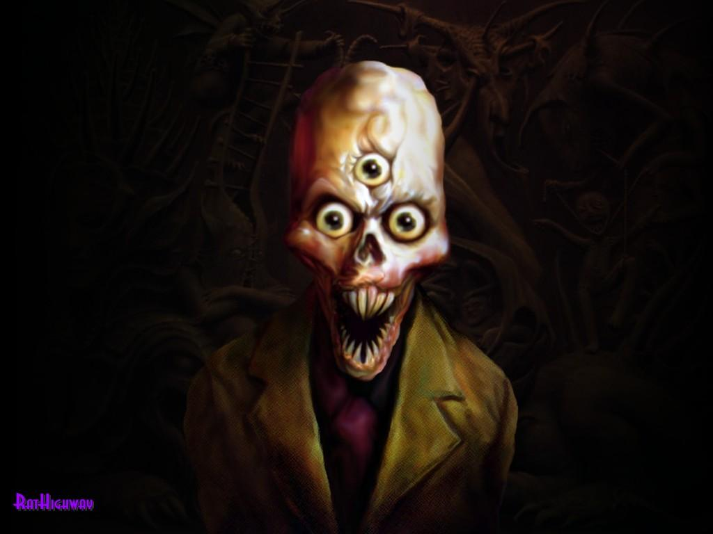 evil skull wallpapers screensaver - photo #48