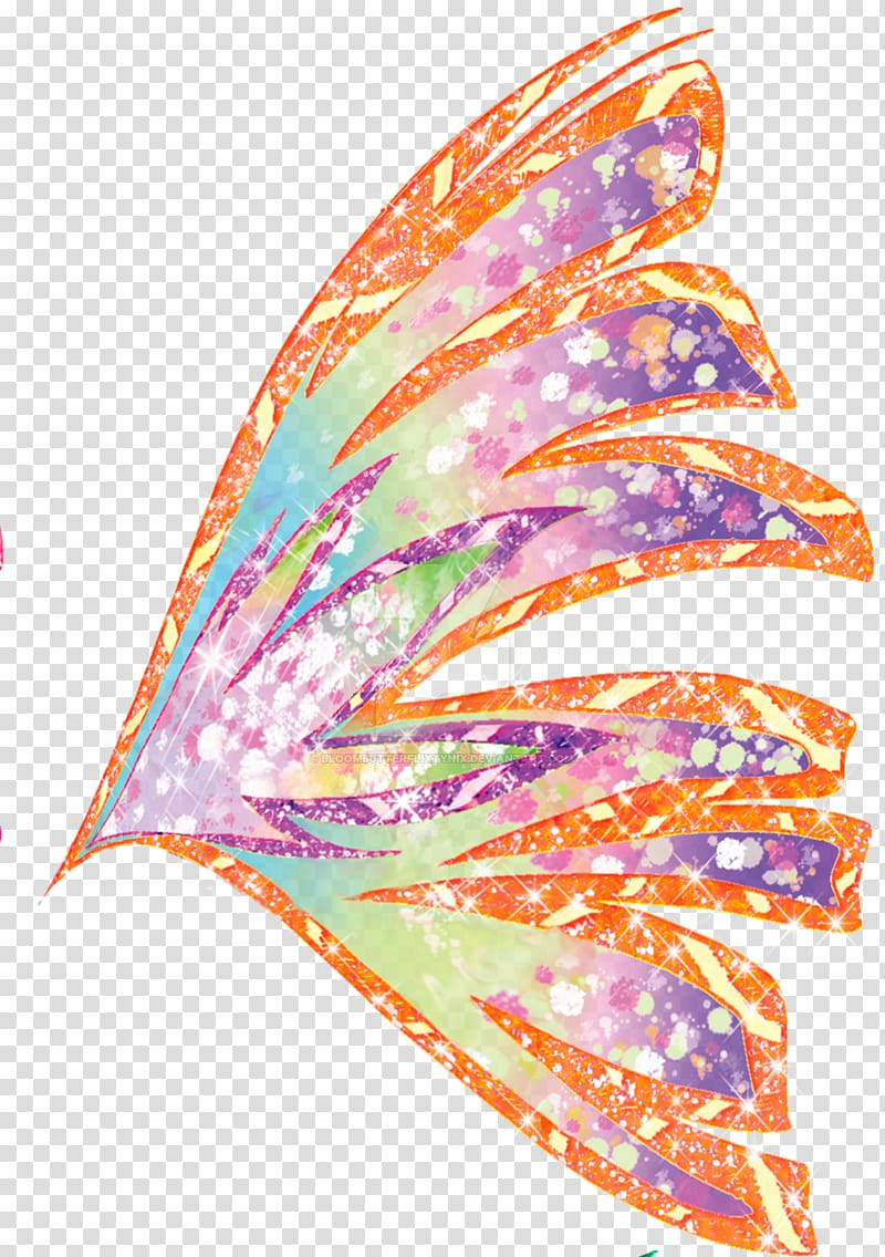 Stella Flora Musa Aisha The Trix wings transparent background PNG 800x1136