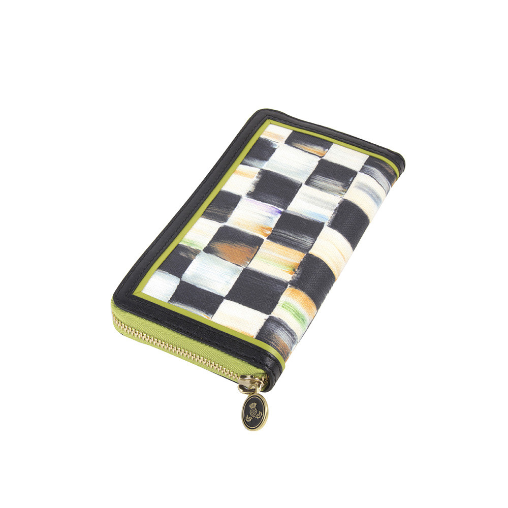 MacKenzie Childs Courtly Check Wallet   Chartreuse at Amara 1000x1000