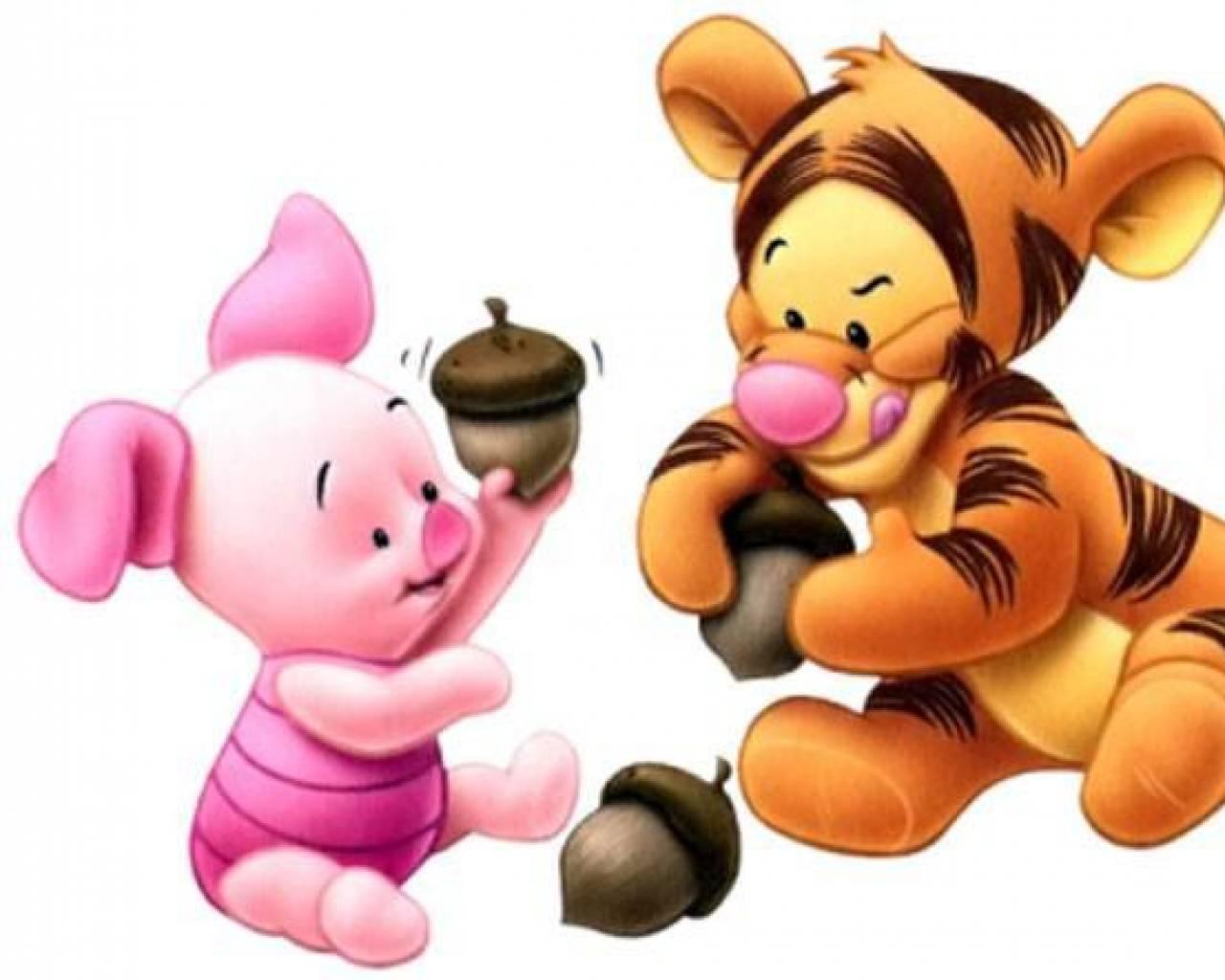 baby Tigger e Piglet 1280x1024 ImagensWikicom 1280x1024