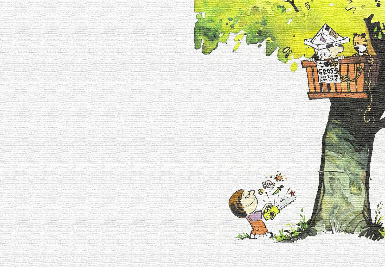 Calvin and Hobbes Wallpaper The Desktop Wallpaper 1600x1111