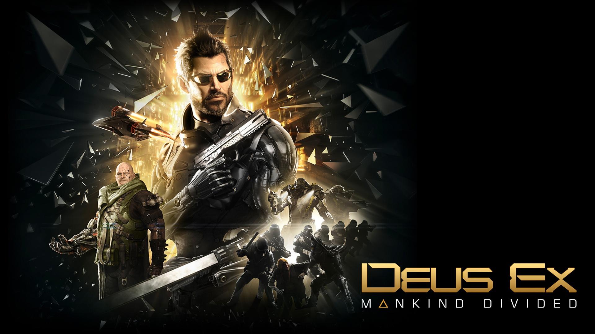 deus ex mankind divided wallpaper background 1920x1080 1920x1080