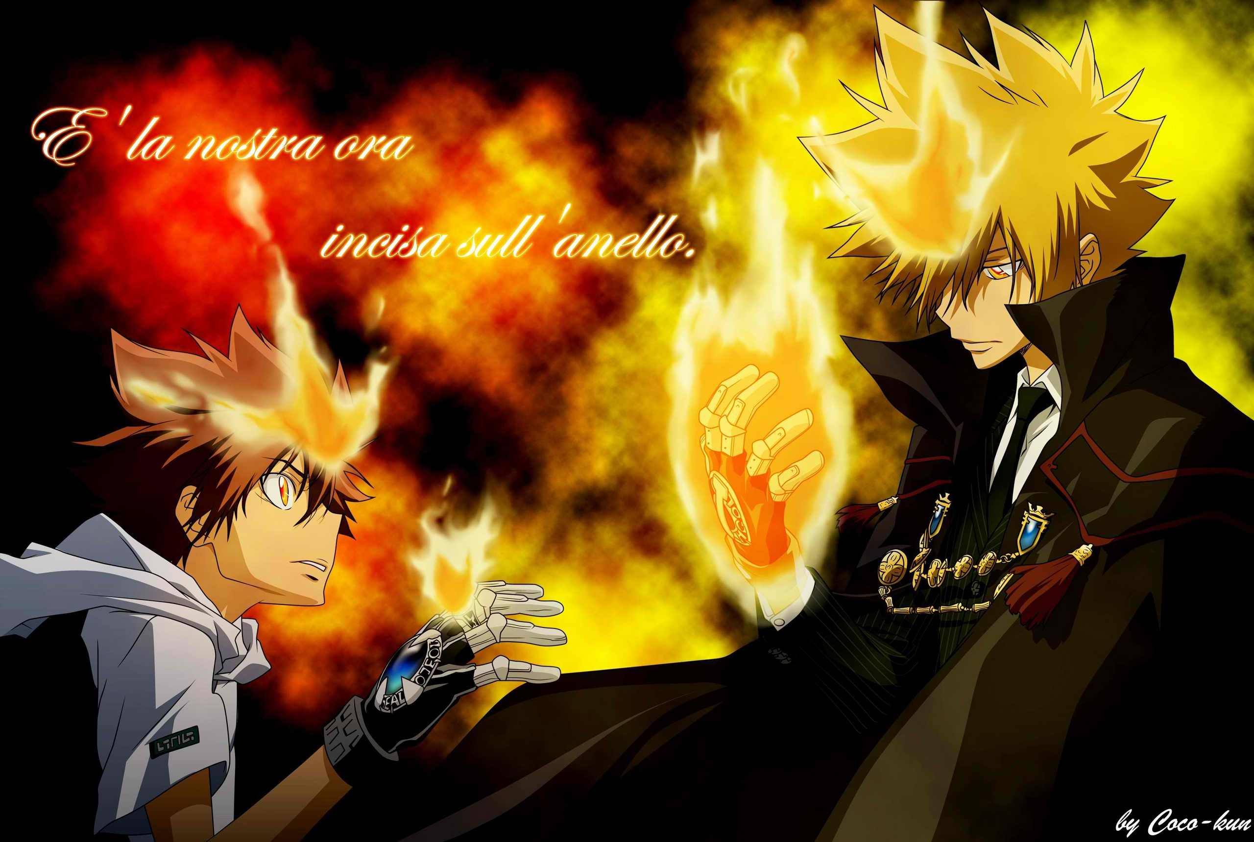 tsuna   Katekyoushi Hitman Reborn Photo 27424251 2560x1719