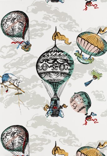 Check Price for Balloons Multi by F Schumacher Wallpaper 343x500