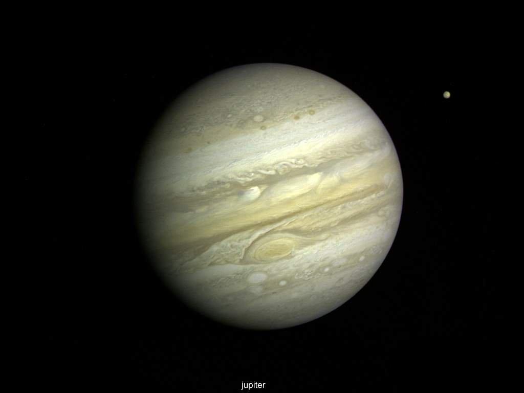 Desktop Wallpaper Planet Jupiter 1024x768