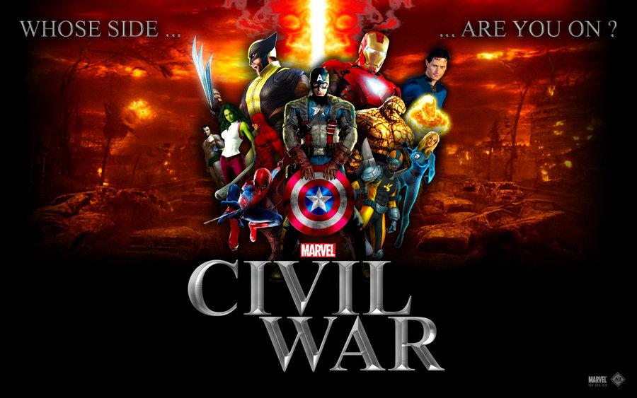 Go Back > Pix For > Marvel Civil War Wallpaper Hd