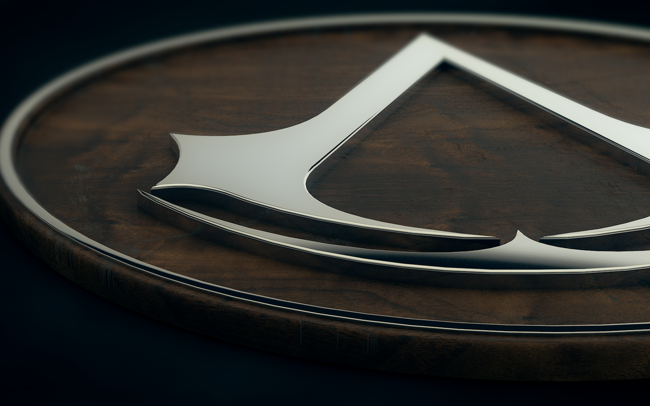 Assassins Creed logo wallpaper 14818 1280x800