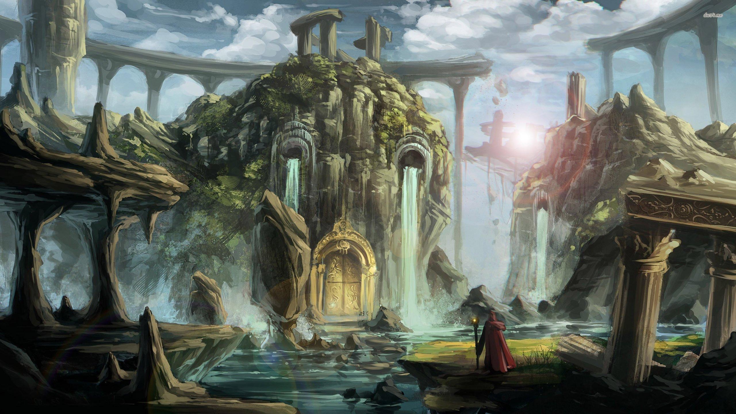 Fantasy castle wallpaper   Fantasy wallpapers   17911 2560x1440