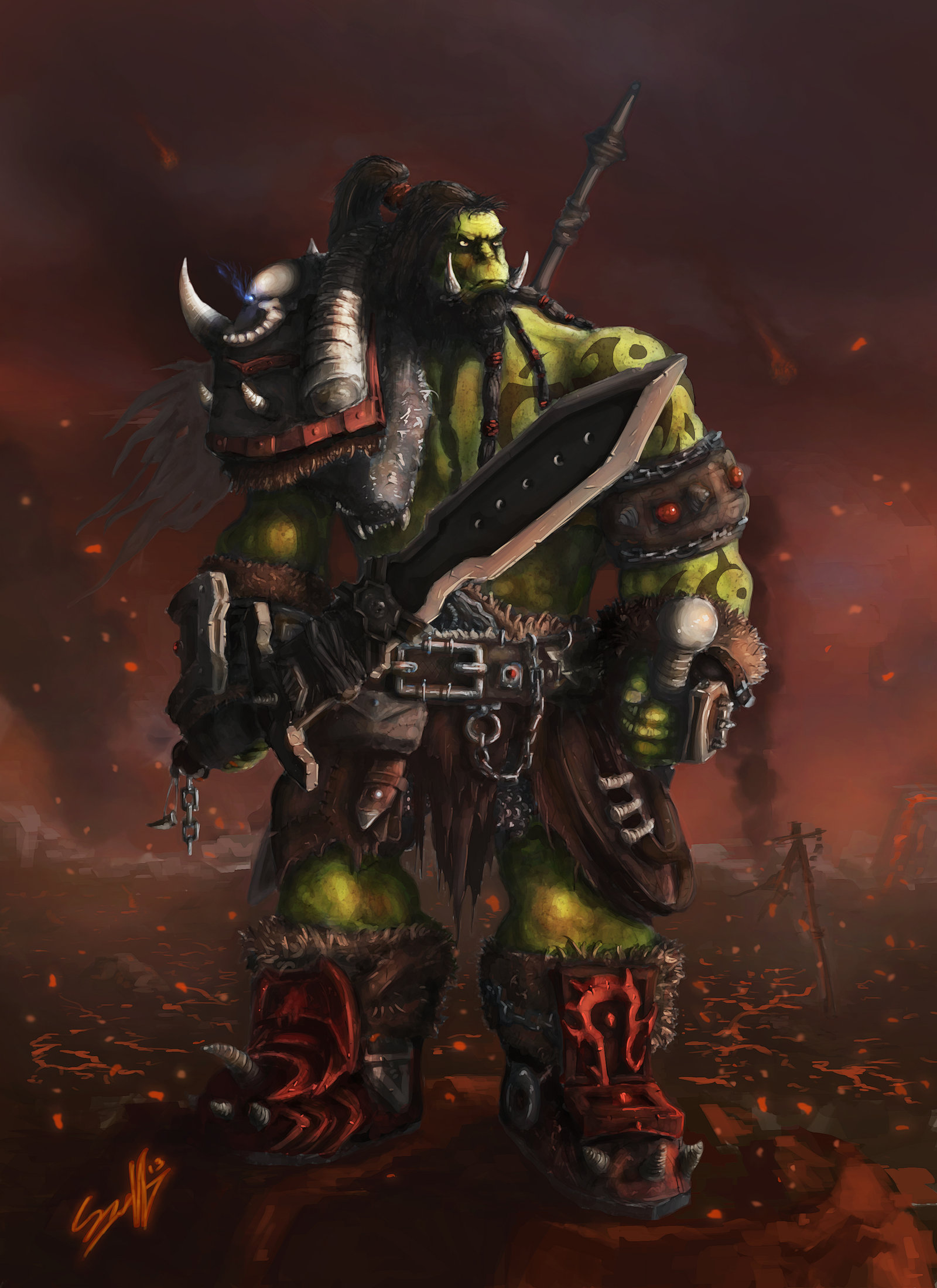46 Wow Orc Wallpaper On Wallpapersafari