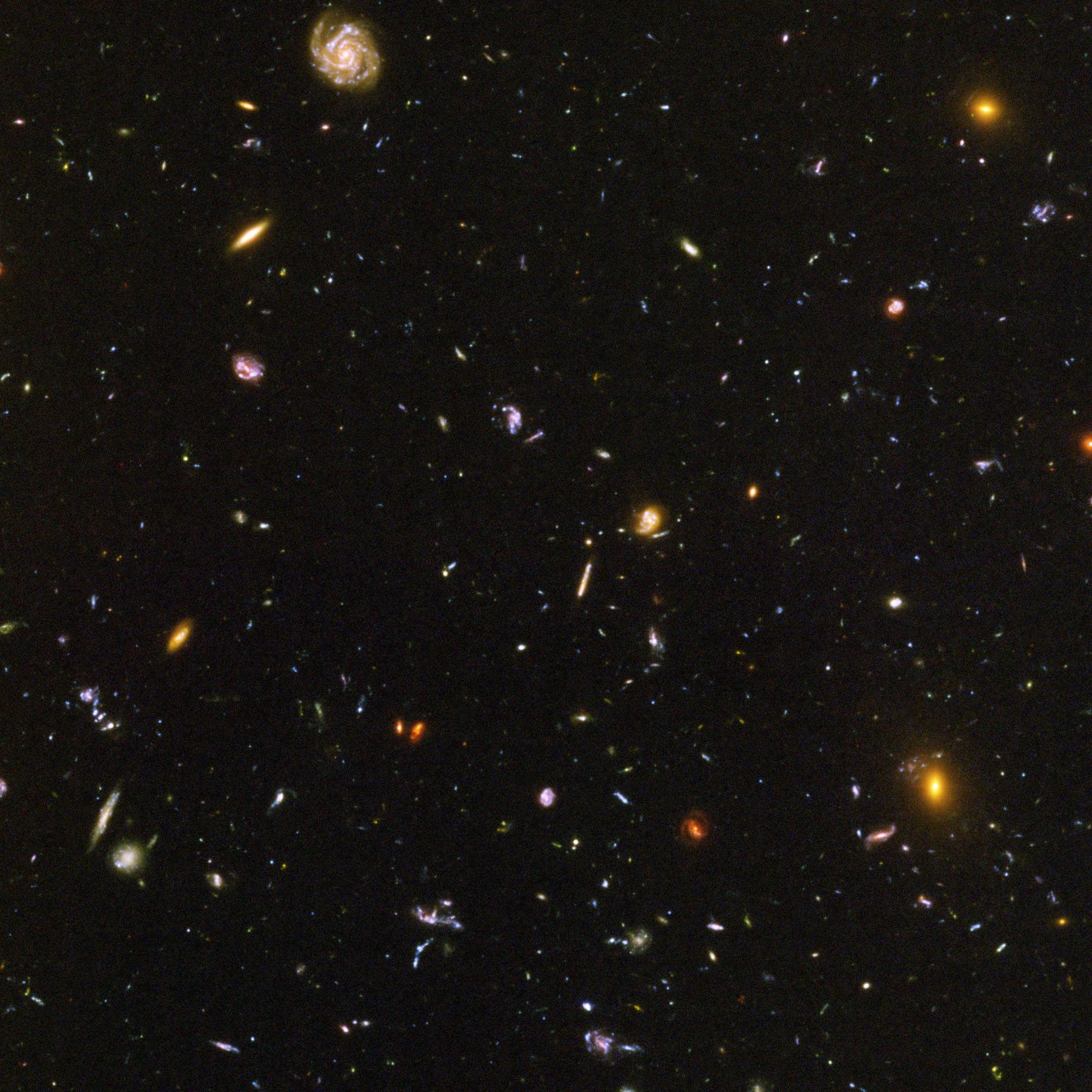 hubble galaxy field - HD 2400×2400