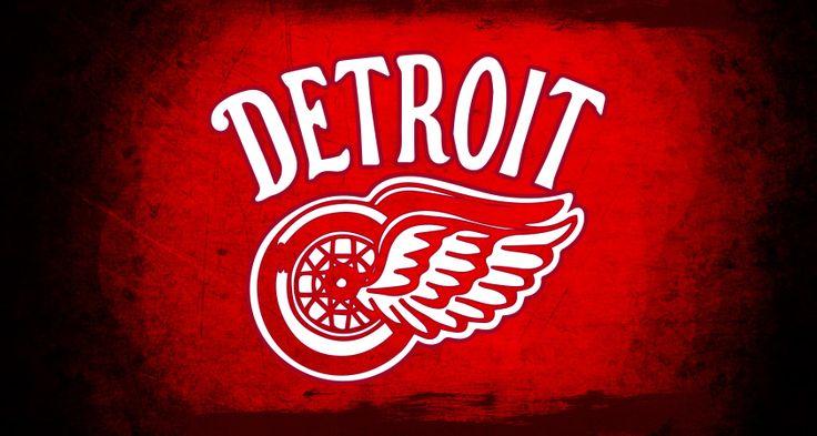 Detroit Red Wings 2014 Winter Classic logo wallpaper hockey 736x393