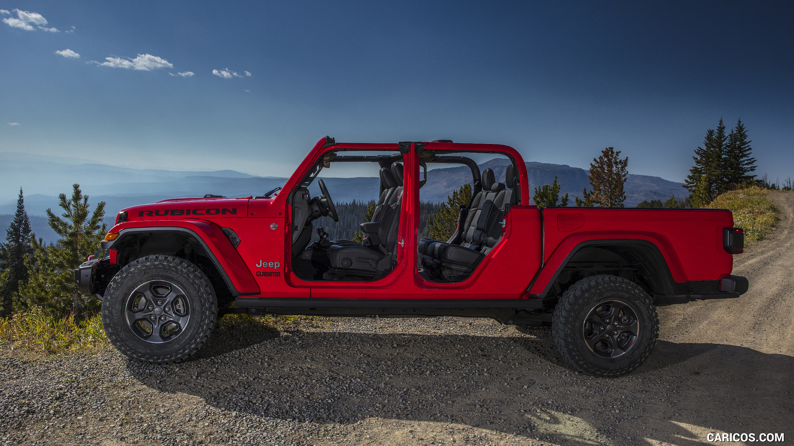 2020 Jeep Gladiator Rubicon   Side HD Wallpaper 67 2560x1440