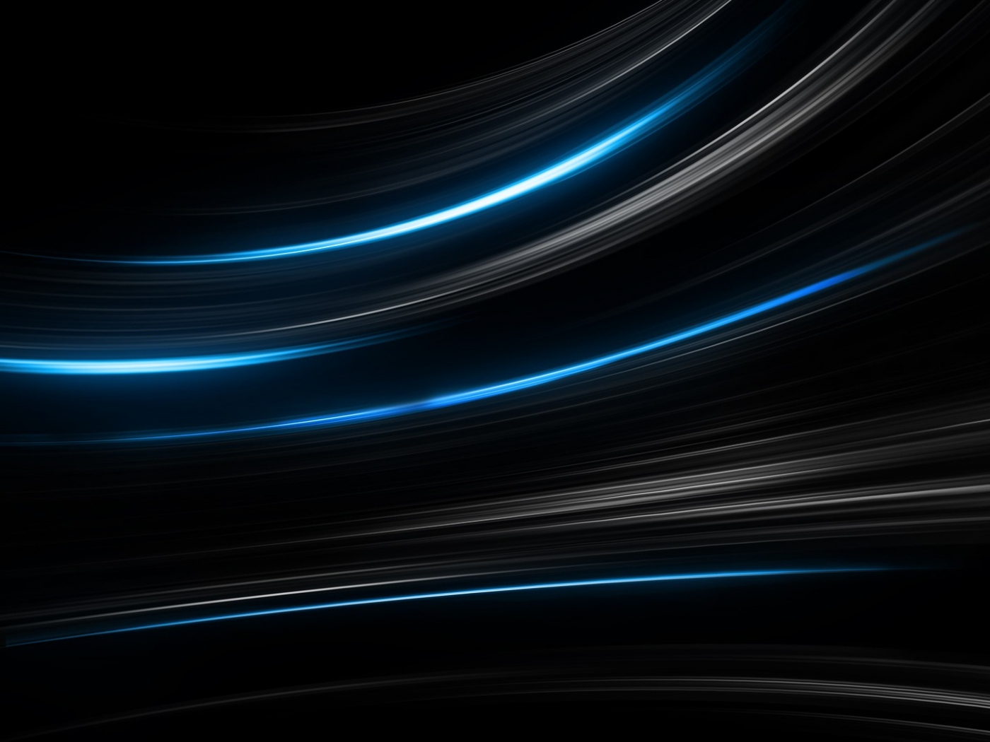 Download Wallpaper 1400x1050 black, blue, abstract, stripes 1400x1050 ...