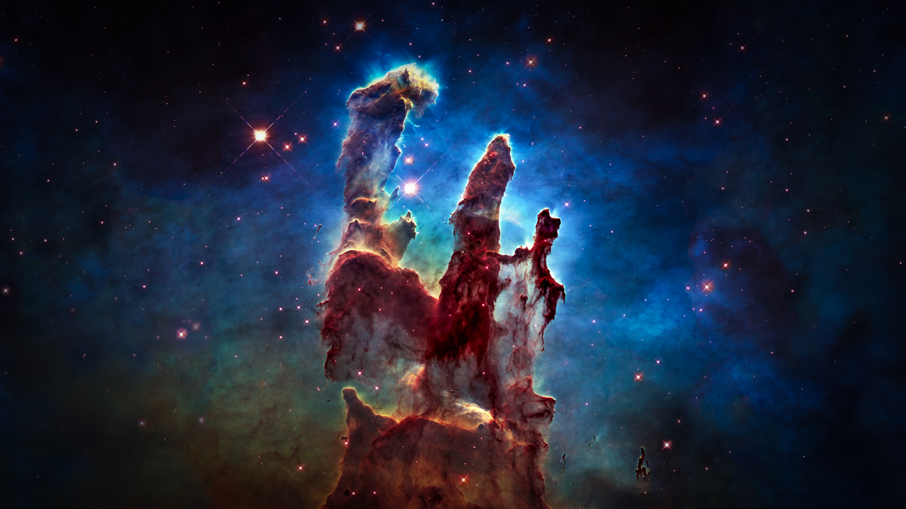 The Pillars Of Creation Wallpaper