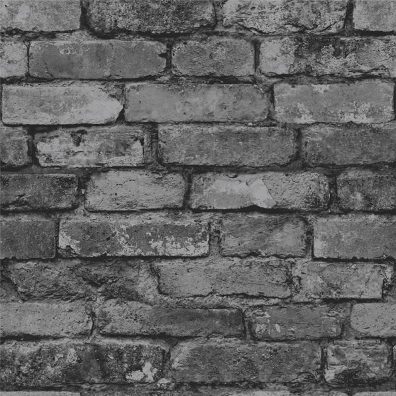 Grey   Realistic   FD31284   Rustic Brick   Fine Decor Wallpaper 800x800