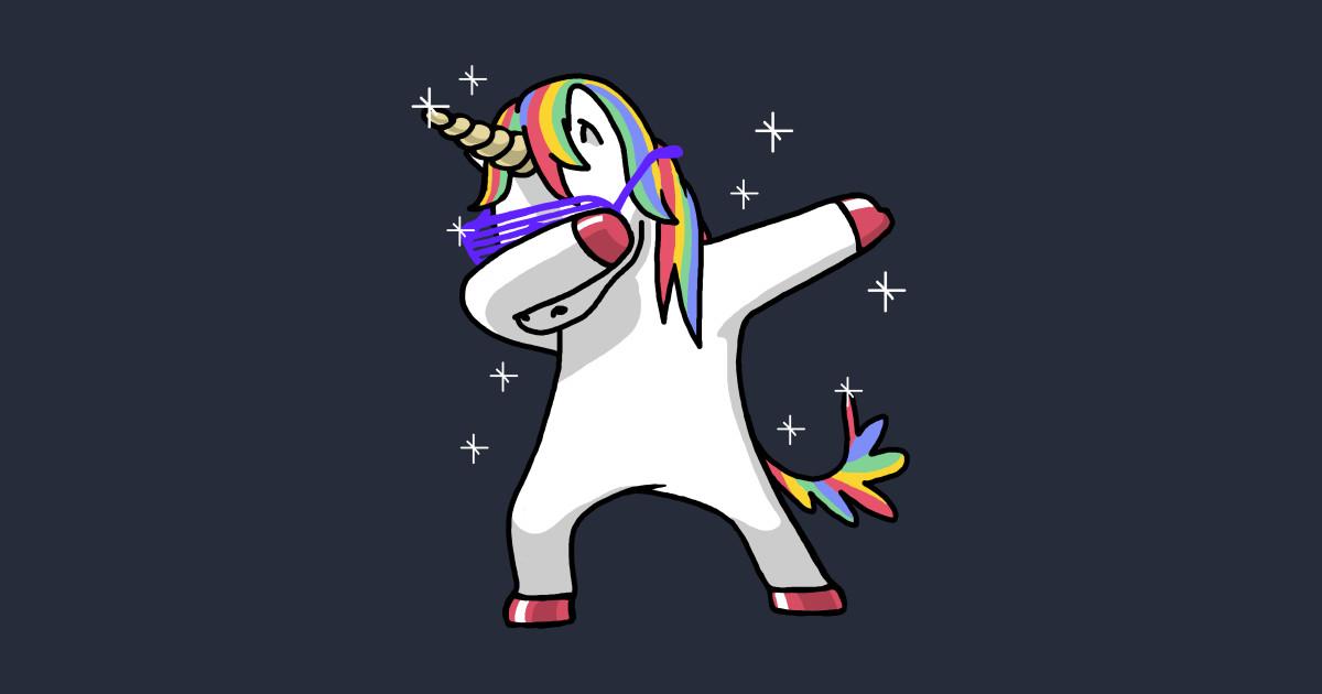 Dabbing Unicorn Shirt Dab Hip Hop Funny Magic   Unicorn 1200x630