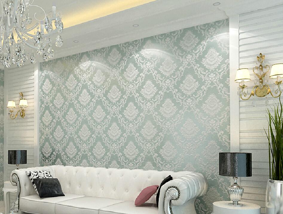 Elegant wallpaper for wall wallpapersafari for Modern elegant living room designs