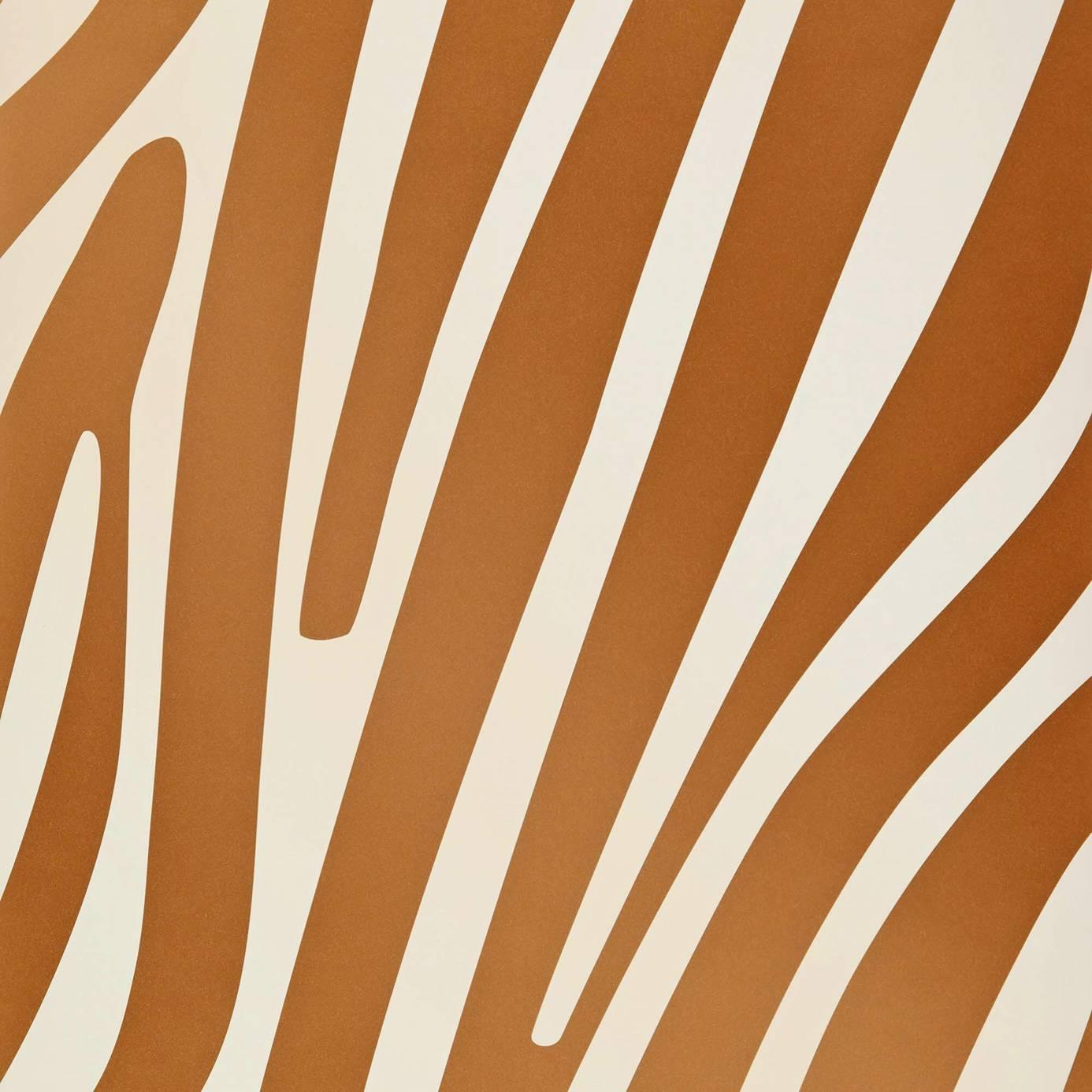 Damara Wallpaper   Copper DAMARA11   Wemyss Jungle Club 1386x1386