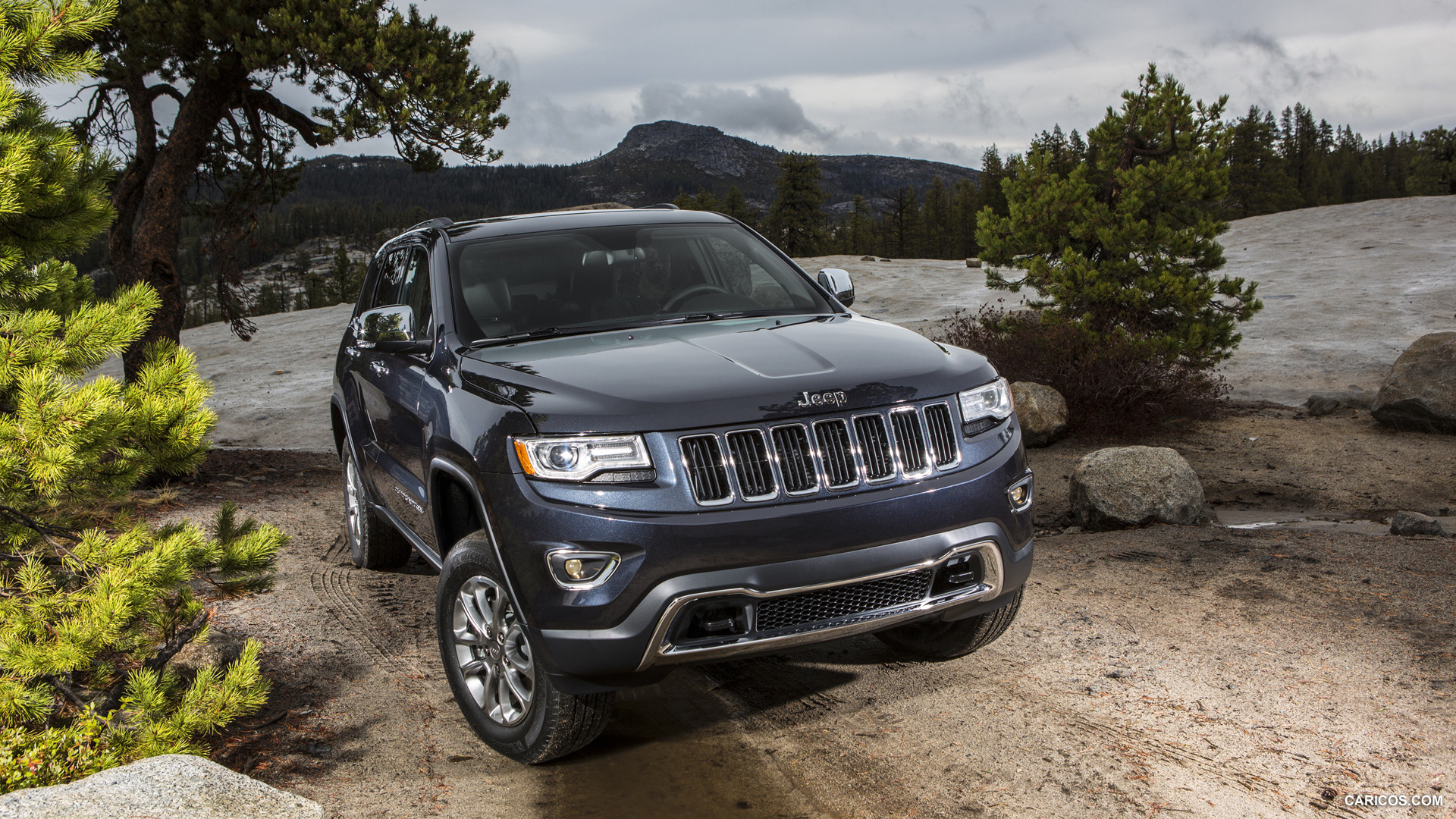 2014 Jeep Grand Cherokee Limited   Front HD Wallpaper 4 1920x1080