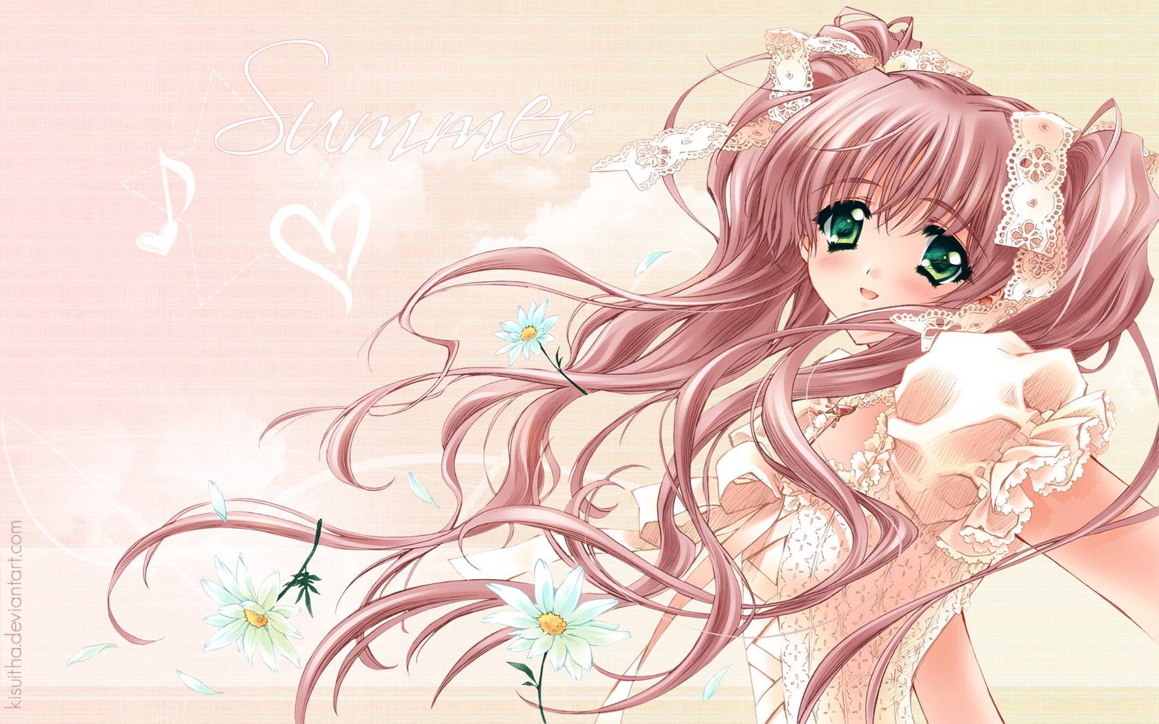 anime 1680x1050 wallpaper by kisuitha customization wallpaper other i 1680x1050