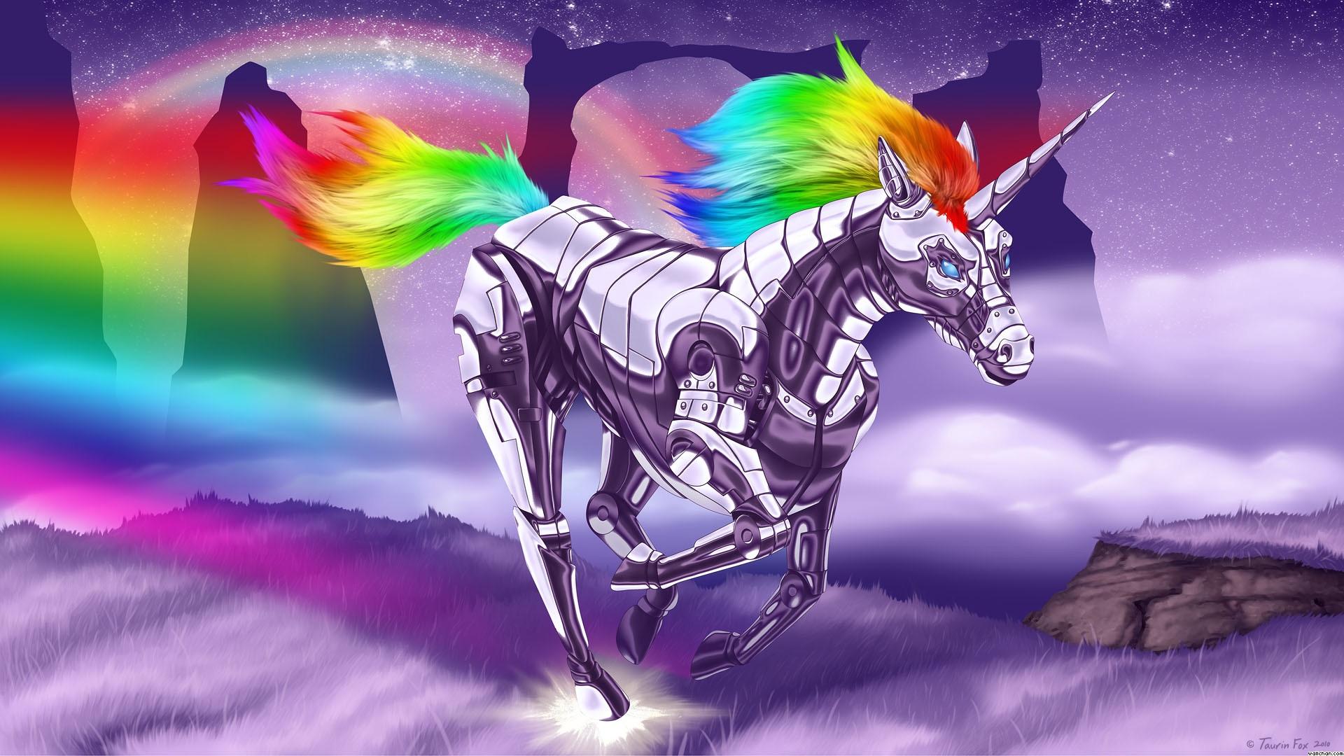 45+] Robot Unicorn Attack Wallpaper on ...