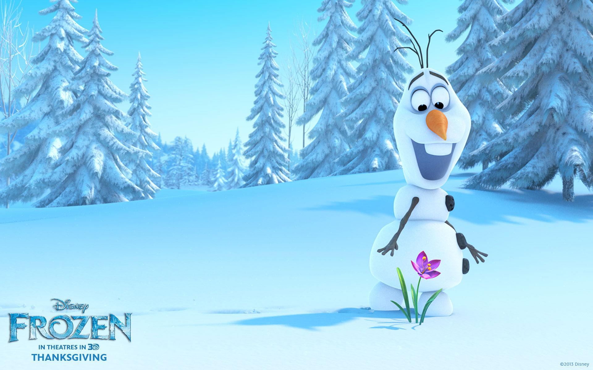 Frozen Movie Olaf HD Wallpaper 2 1920x1200