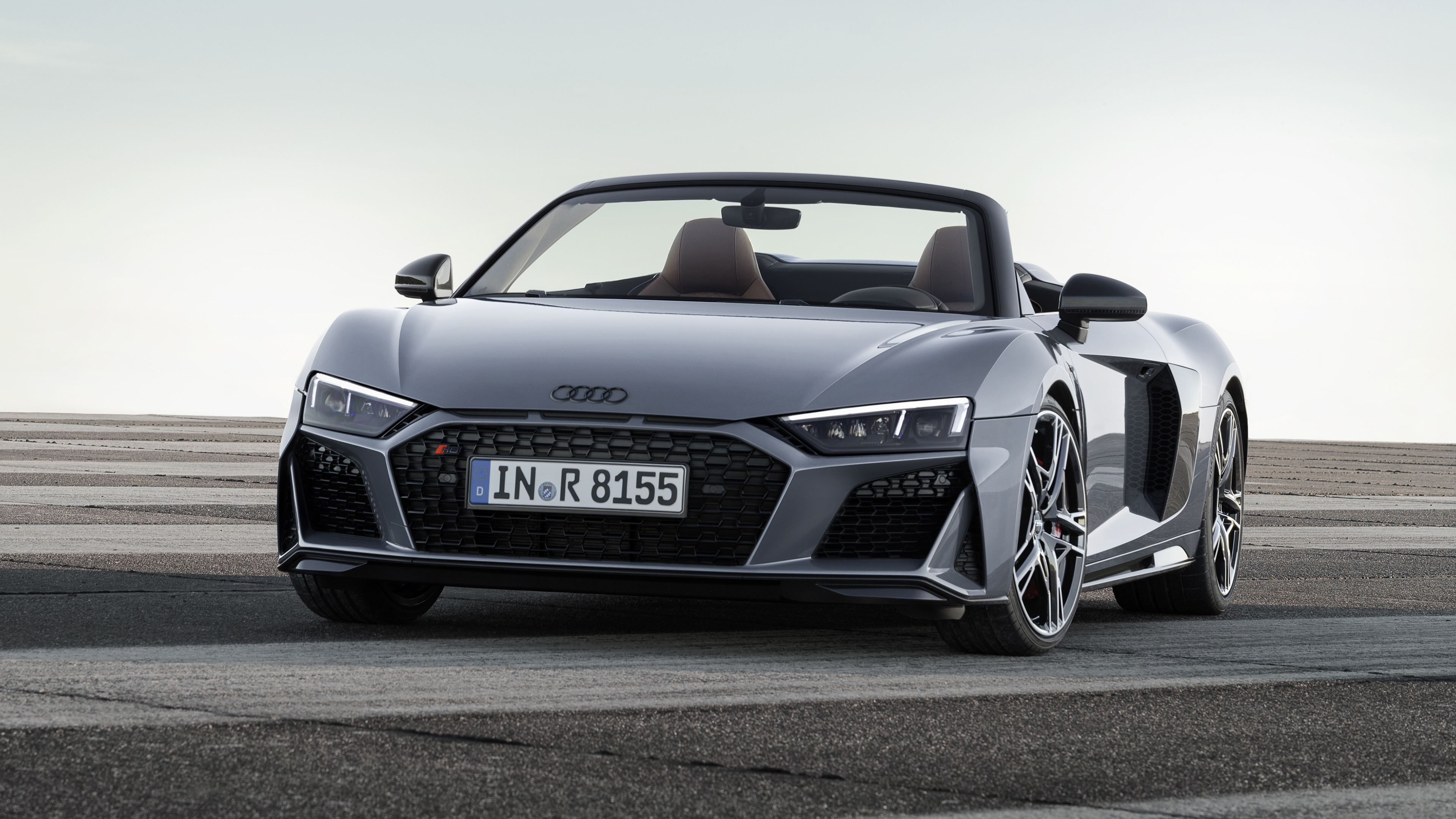 Audi R8 Spyder V10 2019 4K Wallpaper HD Car Wallpapers ID 11379 3840x2160