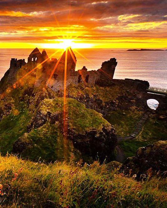 Dunluce Castle SunsetNorthern Ireland Nature 533x663