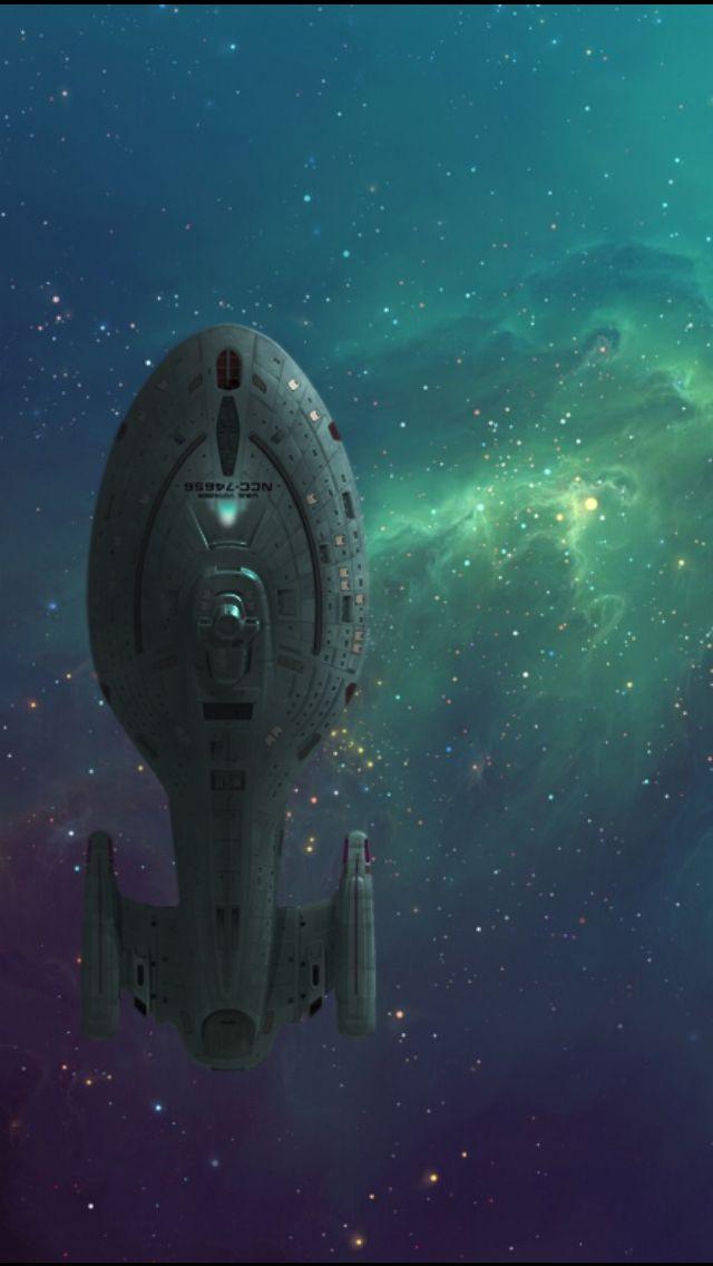 Star Trek Voyager startrek Star Trek wallpapers backgrounds 640x1136