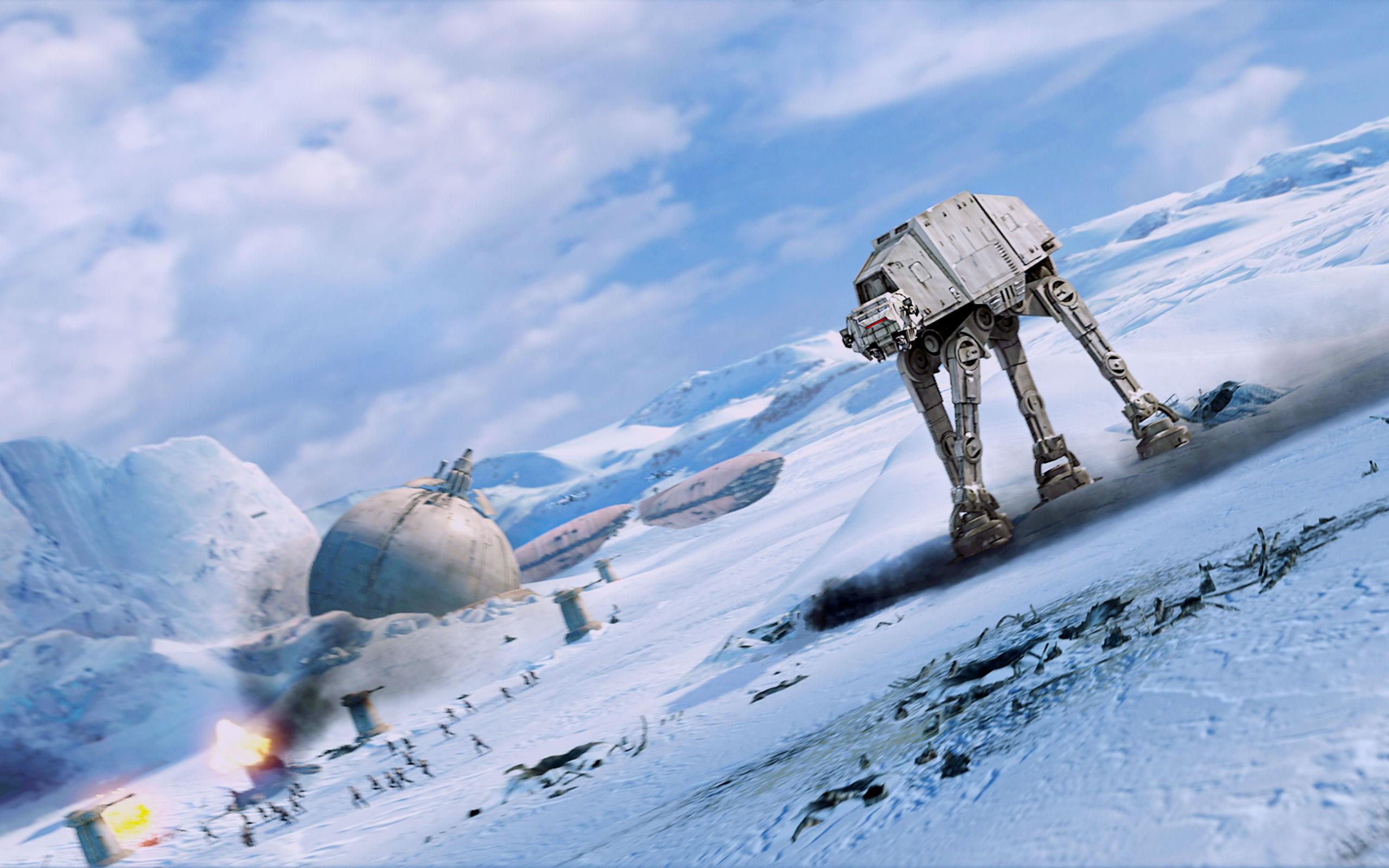 Free Download Star Wars Hoth At At The Empire Strikes Back