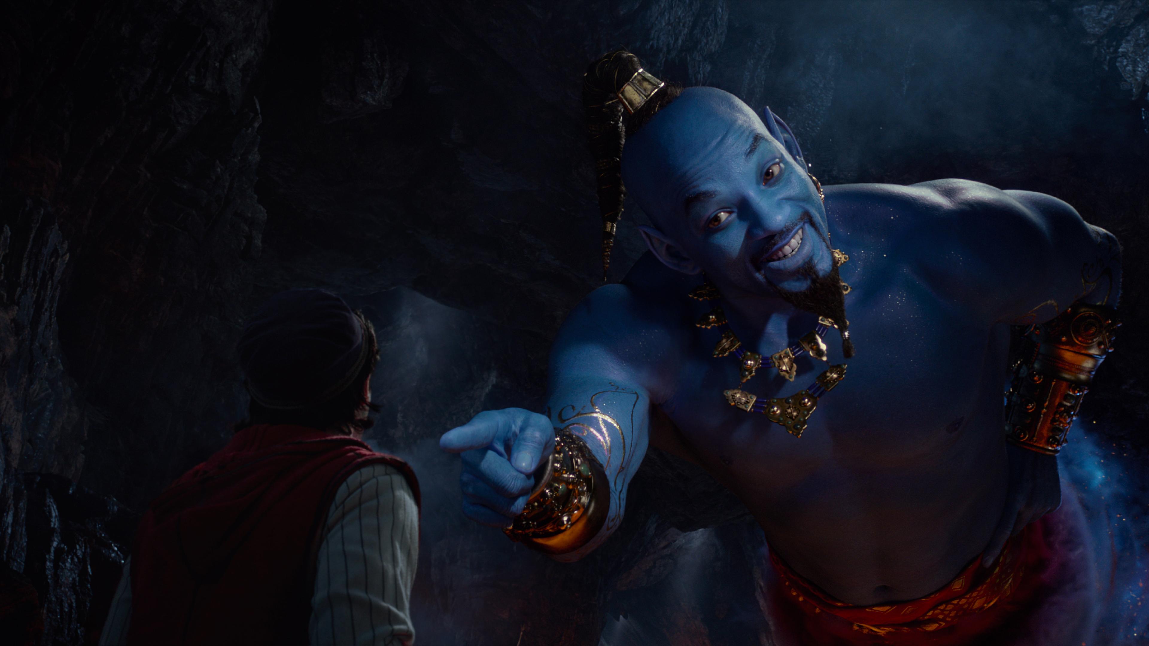 3840x2160 Will Smith as Genie In Aladdin Movie 2019 4K Wallpaper 3840x2160