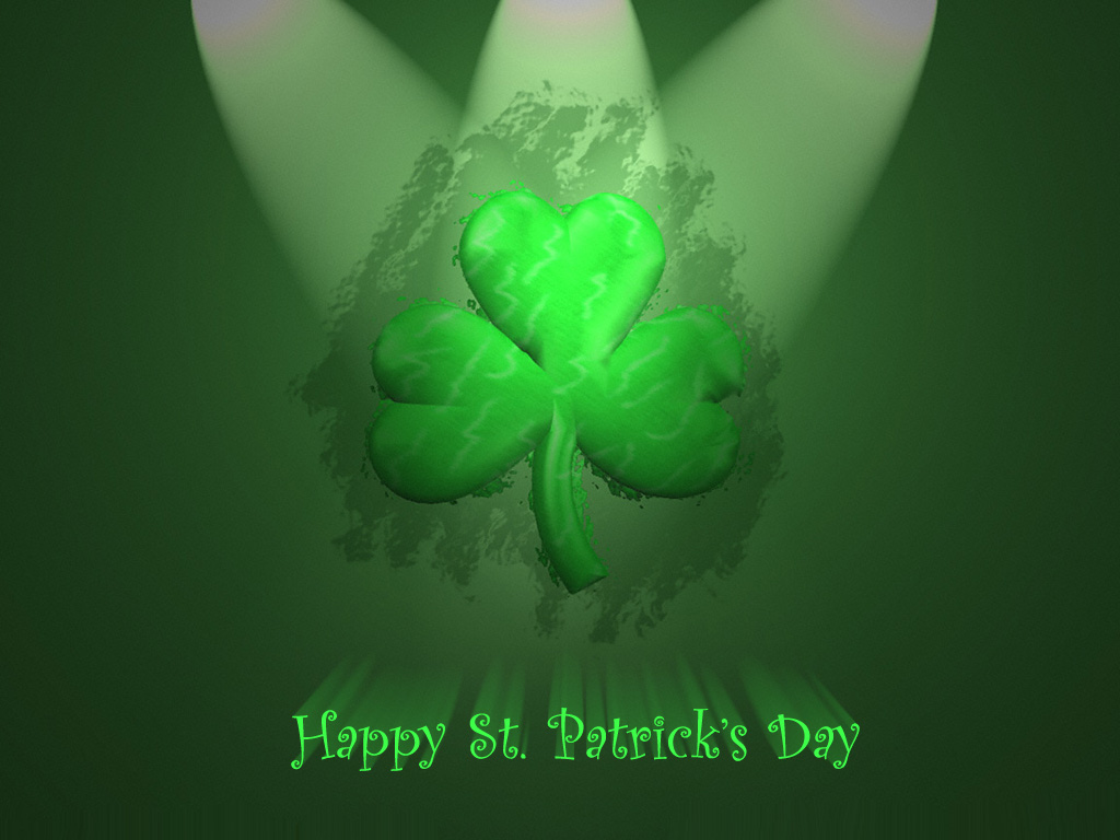 Download St Patricks Day PowerPoint Backgrounds   PPT Garden 1024x768
