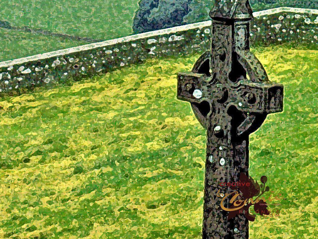 Celtic Cross Wallpapers 1024x768