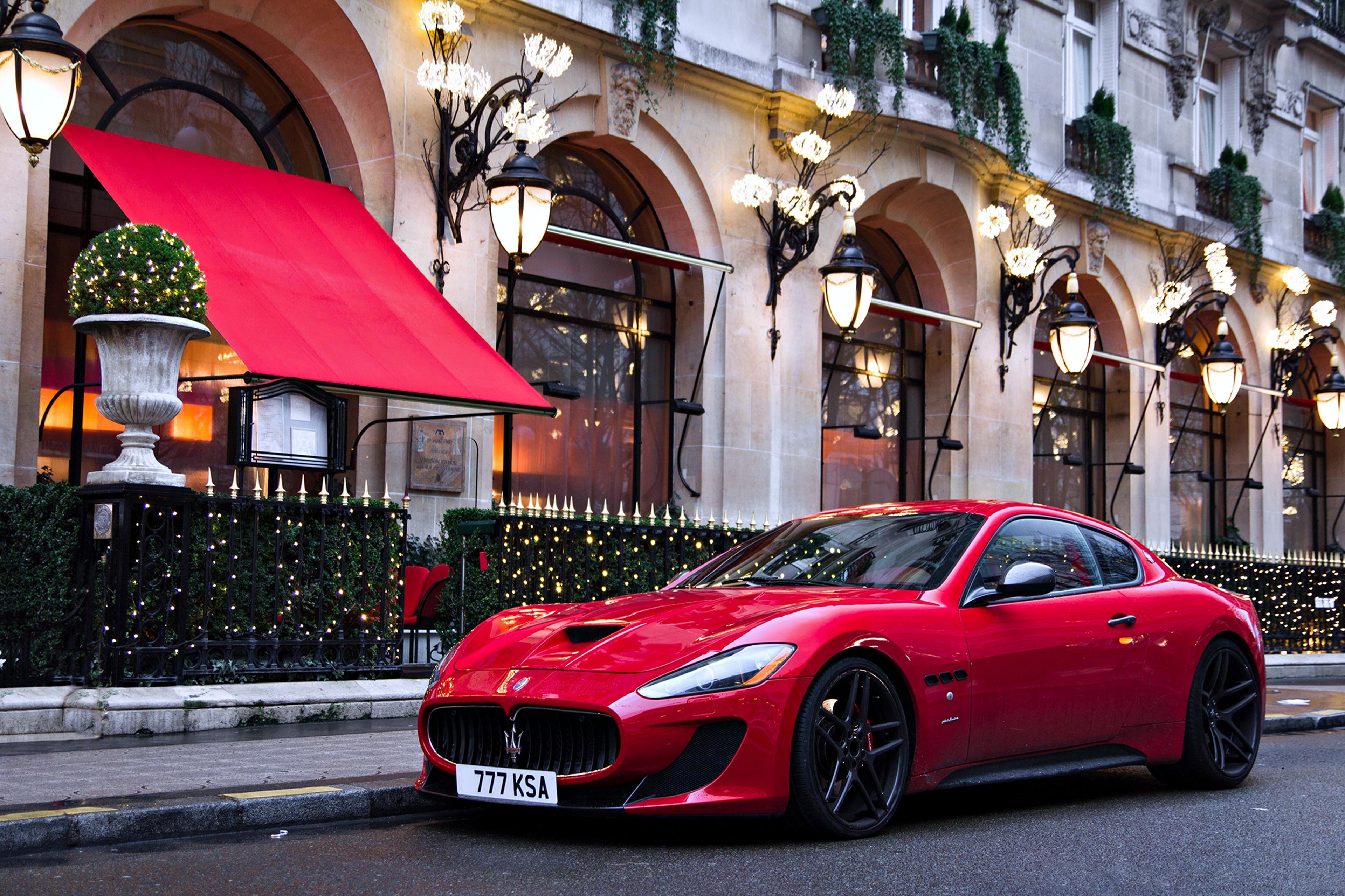 Maserati GranTurismo 4k Ultra HD Wallpaper Background Image 3840x2560