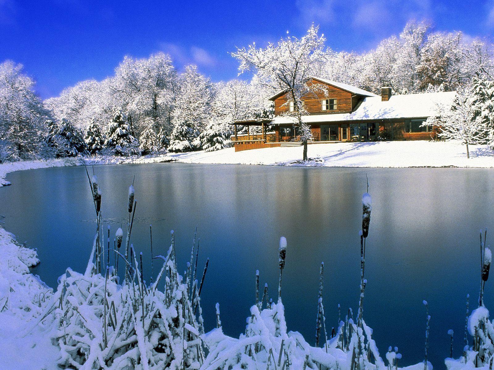 Winter Landscape Wallpaper Full HD 1600x1200