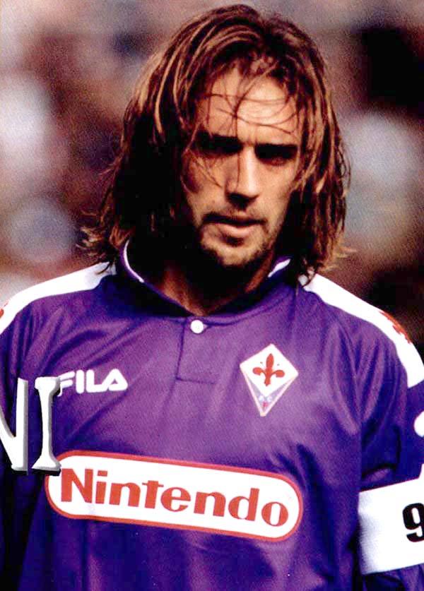 Gabriel Batistuta Argentina Football Stars Pinterest 600x837